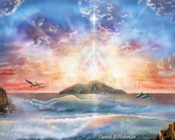 """Enchanted Isle"" de Daniel B. Holman"
